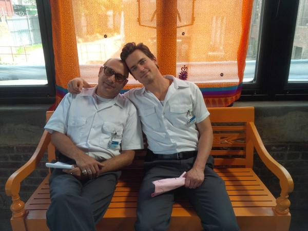 Our last day together......I don't have words for this....rough rough day for sure......@MattBomer @WhiteCollarUSA http://t.co/uQ99HwYGqf
