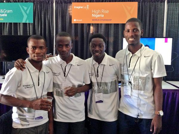 These Nigerian boys are wager that their app can make cataract testing more efficient. #ImagineCup http://t.co/01egT1KxuF