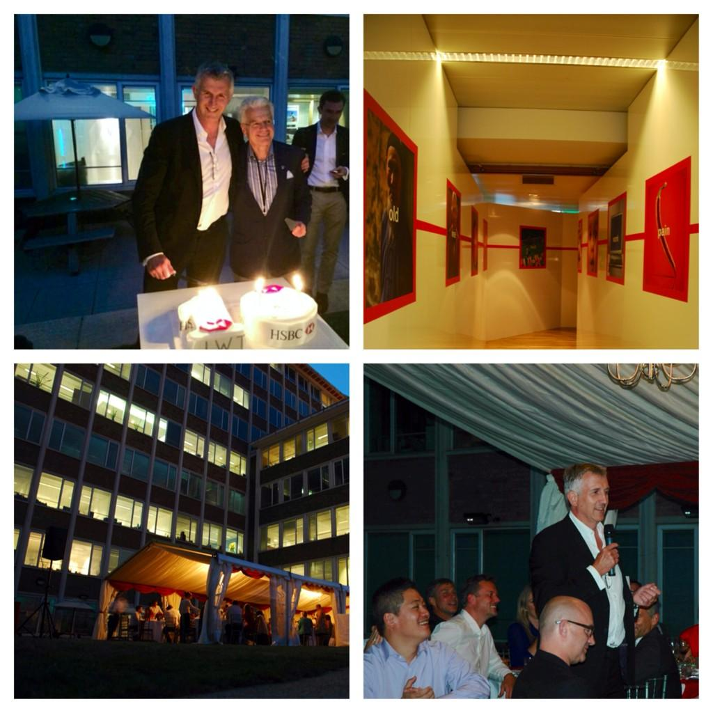 Last night we celebrated 10 years of our partnership with HSBC. Was a wonderful night. Work, speeches and cake! http://t.co/dw2w974q6p