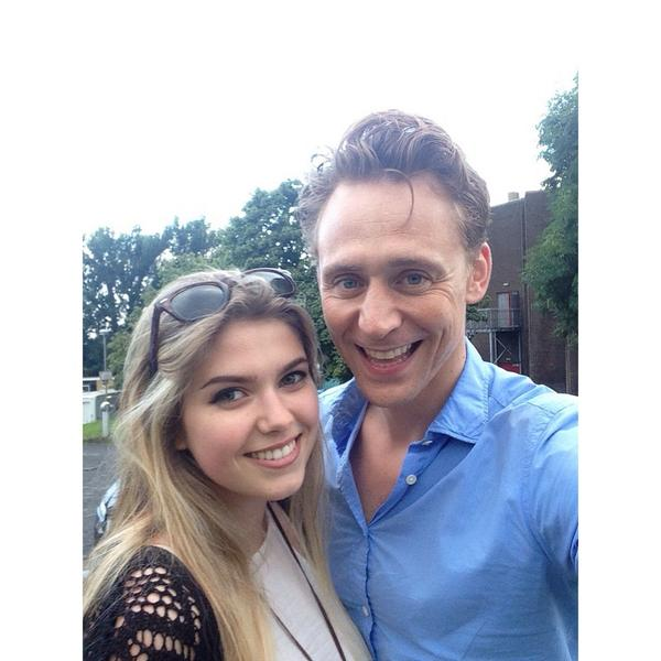 here are the proper pictures! Thank you @twhiddleston best day ever!!
