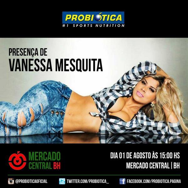 Se liga galera de Belo Horizonte! Amanhã 1 de agosto 15h, a atleta #PRO Vanessa Mesquita vai estar no Mercado Central http://t.co/zIIbxXpBym
