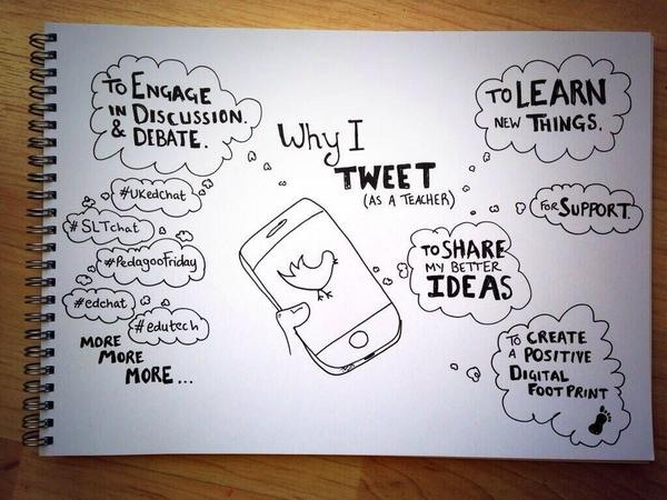 Awesome! Why I Tweet as a Teacher  http://t.co/7mDlGObAmR via @danieldmccabe @LearningList #NTChat #Teachers #CNEDCHAT #ce14 #Edchat