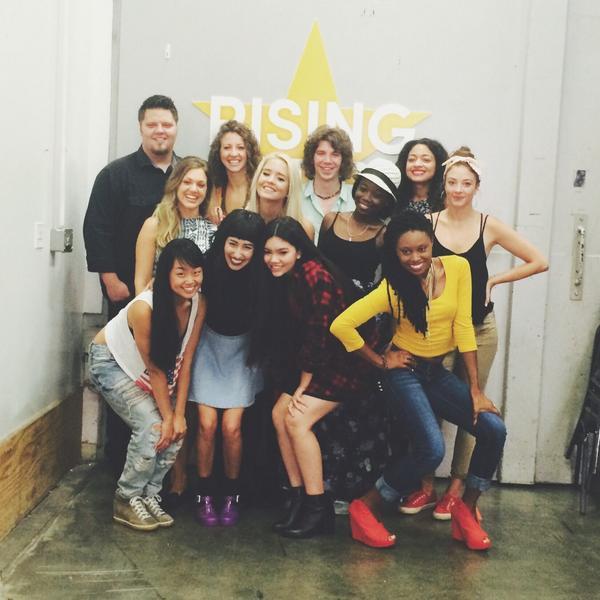 """@AprilLockhart: STOKED for this Sunday 9/8c! SWIPE RIGHT #RisingStar"