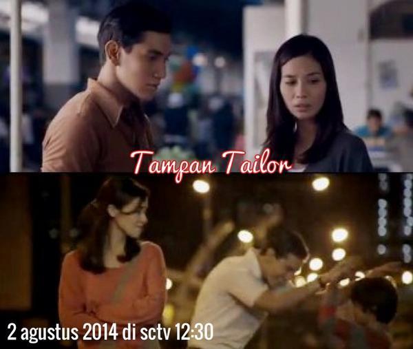 """Catet Gank !!! Perdana di televisi. Saksikan film """"TAMPAN TAILOR"""" tanggal 2 Agustus 2014 jam 12:30 di SCTV. http://t.co/F00qB04fbz"""