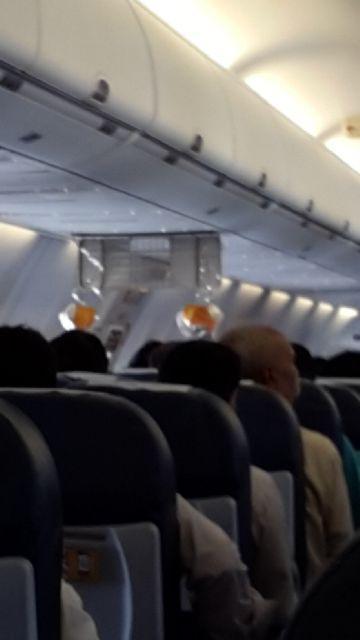 Jet Airways: Jet Airways today's Patna- Delhi flight had its oxygen