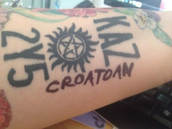 I'm all washed up and ready, @mishacollins! #CroatoanDay #croatoan #supernatural http://t.co/iZOGsTuTzi @SuperWiki