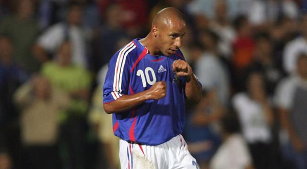 French Zinedine Zidane : Julien Faubert birthday wear French shirt ...