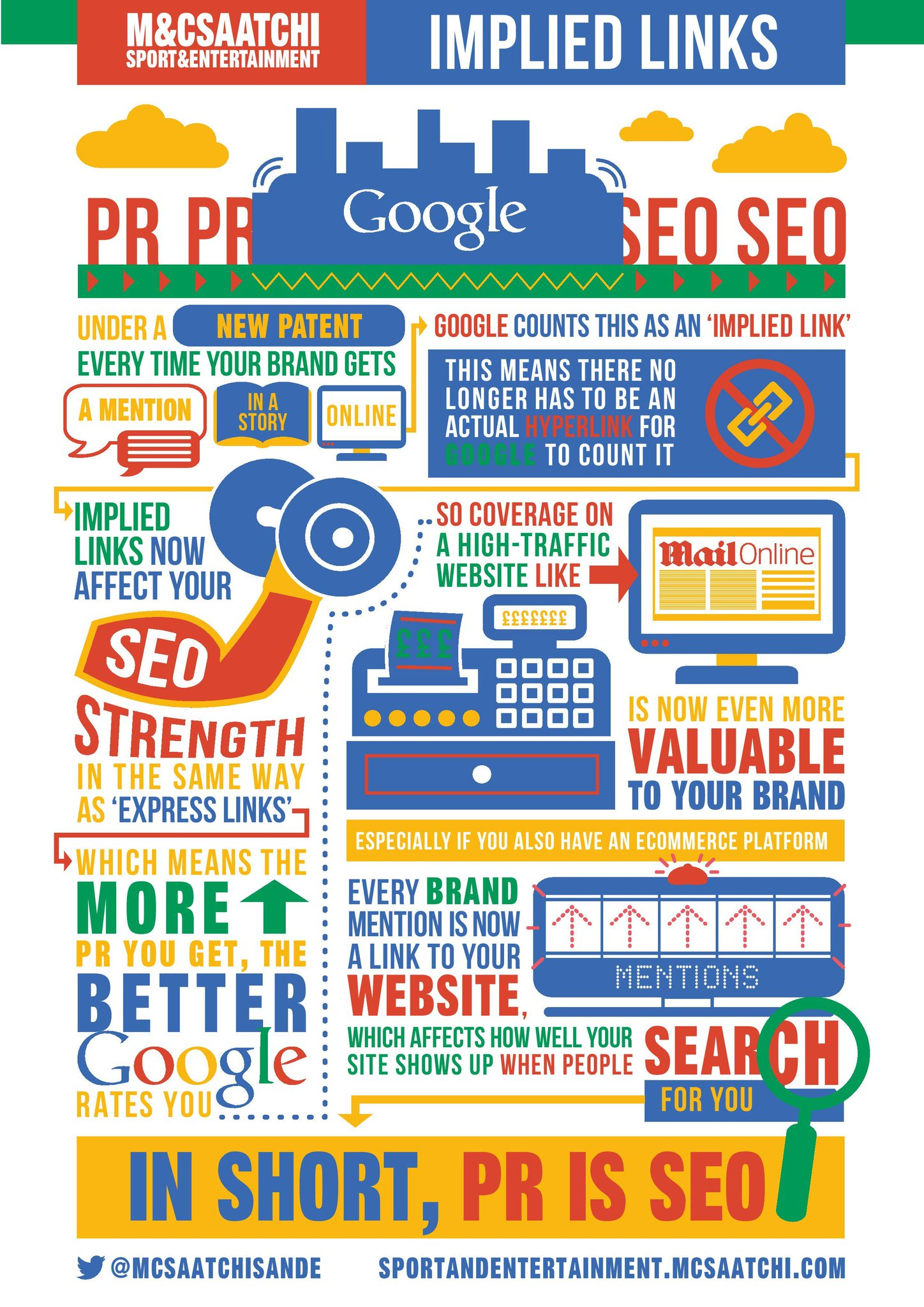'In short, PR is SEO' > handy infographic from @MCSaatchiSandE explains how brand mentions boost online profile http://t.co/Vrr5xAIXXC