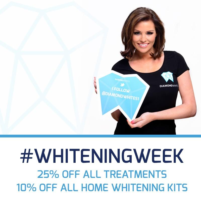 RT @Diamondwhites1: We're approaching the final 12 hours of #whiteningweek 25% off of all treatments & 10% off of Home Whitening Kits!! htt…