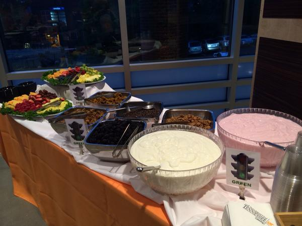 Getting ready to #fuelup for the first day of camp! #yogurtparfait #UTcatering http://t.co/YRd62HcXzh