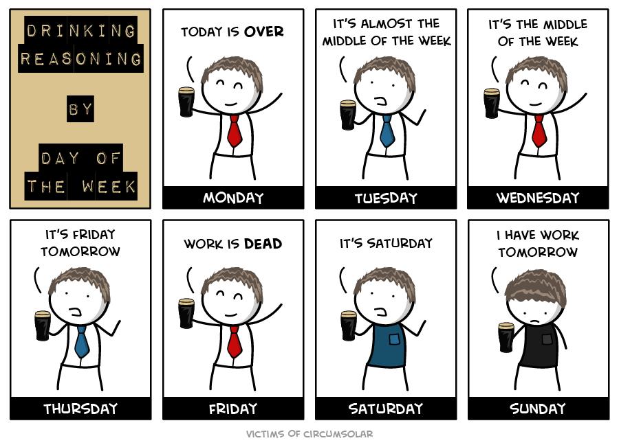 картинки про работу по дням недели квартир