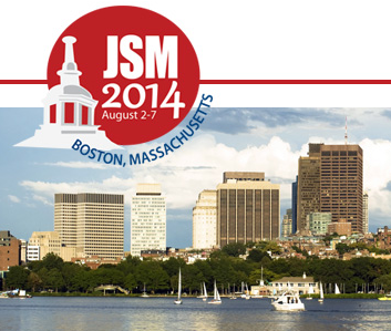 Going to #JSM2014 this weekend? Here's your guide to R-related presentations: http://t.co/a6m3yiSaGg http://t.co/F2yh9x9o5E
