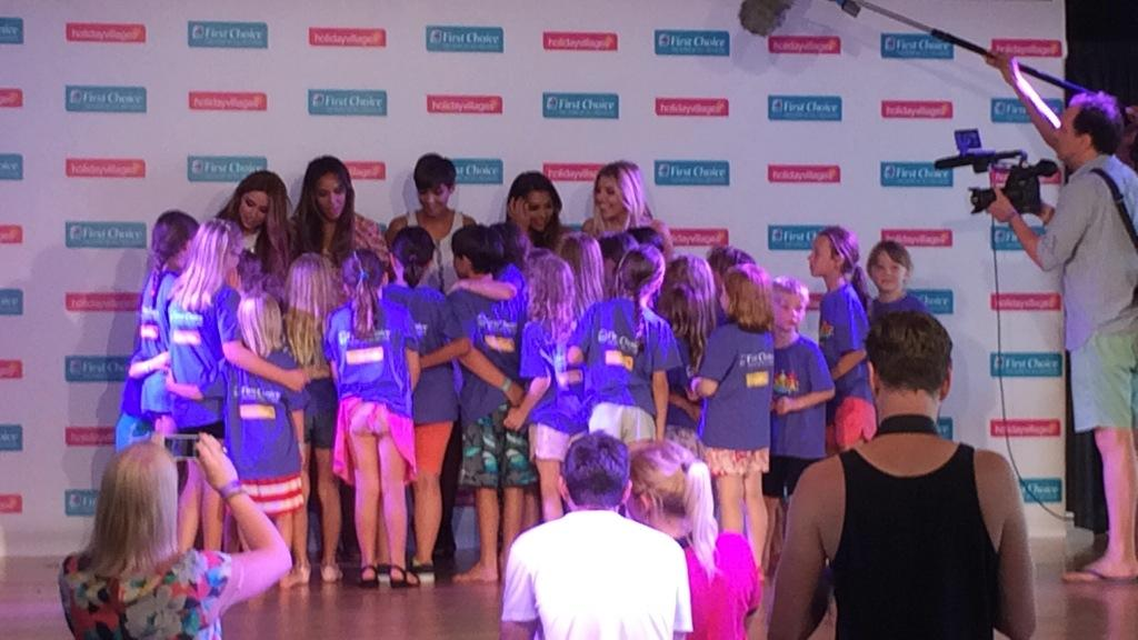 LOVED surprising the Razzmataz kids learning our Higher routine at the @FirstChoiceUK Holiday Village Ibiza! #HV10 http://t.co/sCpMYNerod