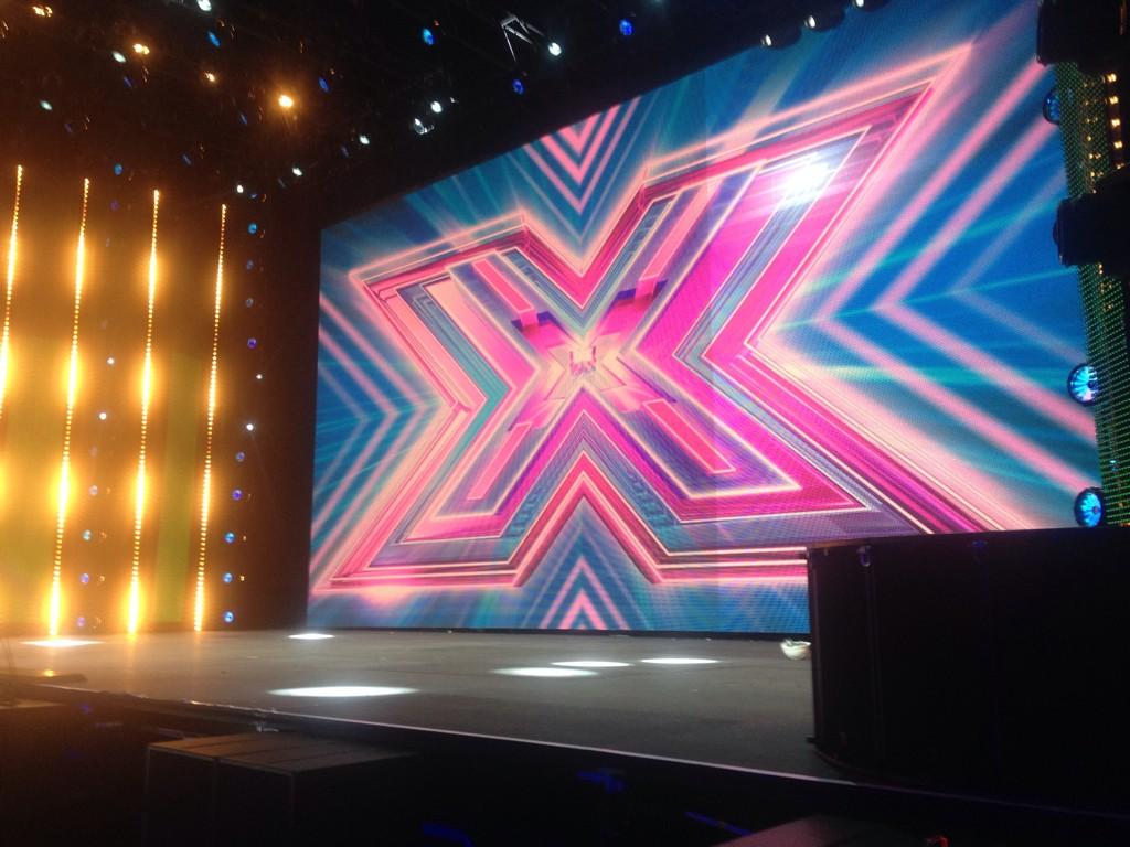 Our virgin stage at @ssearena is almost ready for the first contestant perform. #xfactor #OnlyForTheBrave #Arenas http://t.co/2ifcNPEMH6