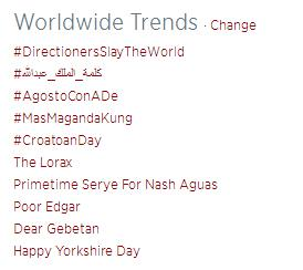 @SuperWiki @mishacollins @jarpad Another Worldwide Trend for the #SPNFamily #CroatoanDay #Supernatural http://t.co/urNFeh8K3O
