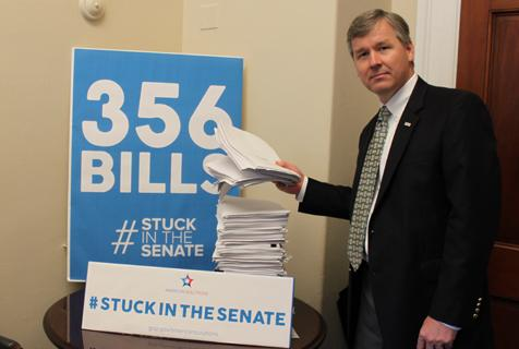 Under Harry Reid's control, there are 356 bills #StuckInTheSenate. The American people deserve better. #SenateMustAct http://t.co/Rx2nUMYwIQ