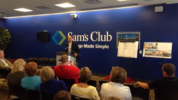 Sam's Club Springdale, AR announcement