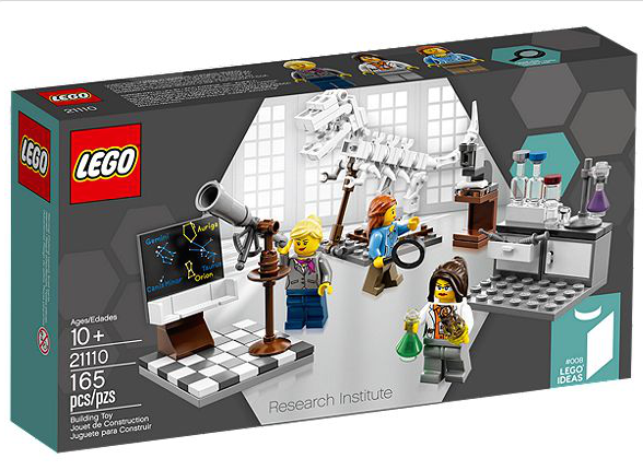 You can finally buy the LEGO female scientist minifig filled Research Institute set. http://t.co/tRHJ28fCe1 http://t.co/7KQt9h6Bf1