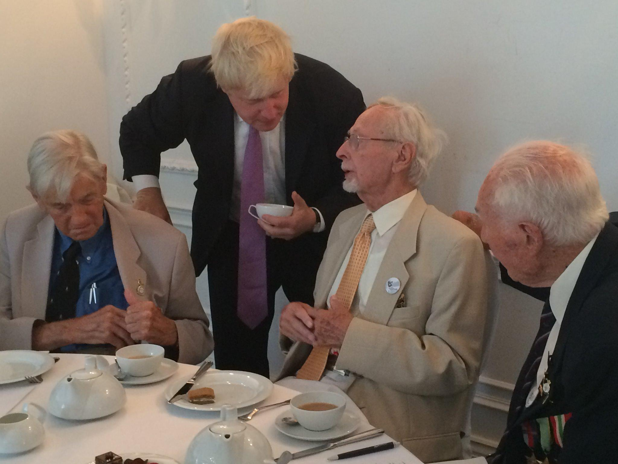 I've just been attending a 'Great British Afternoon Tea Party' to meet with veterans of the #WarsawUprising http://t.co/MlJgzmGd5s