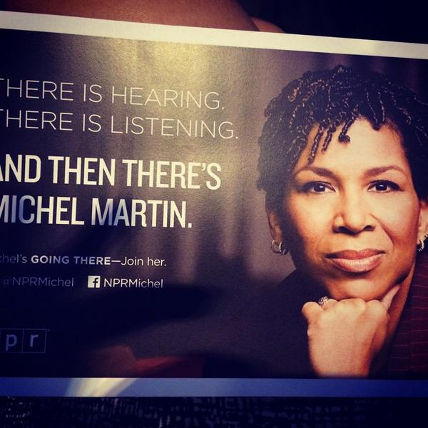 Tell Me More has been my family for the past 7 years. I'm so sad, but I'm so excited for what's next for @NPRMichel http://t.co/weG456yZpk