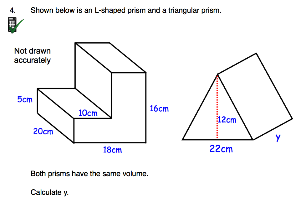 Corbettmaths On Twitter New Worksheet Volume Of An L Shaped Prism