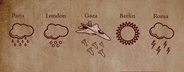 Weather in #Gaza, showers expected http://t.co/82H0H3pHbe