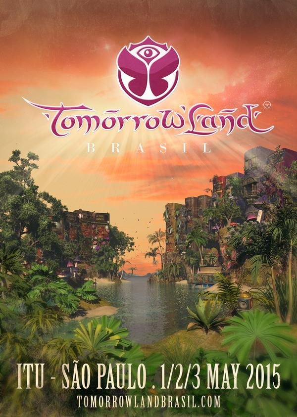 2015 will be the year Tomorrowland sets foot in South-America. Brasil, are you ready? http://t.co/gjq9gPT4dS http://t.co/IABCbXeZYO