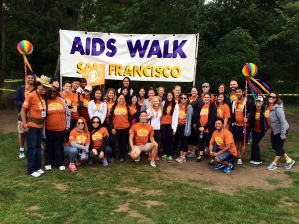 The @CBSi Team is ready for #AIDSWalkSF #CBSCares http://t.co/SQBoNf2Ruk