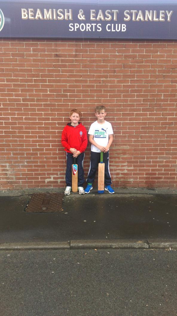 Tom & Sam represented the under 11 league team last week. Well done to both lads for getting selected.
