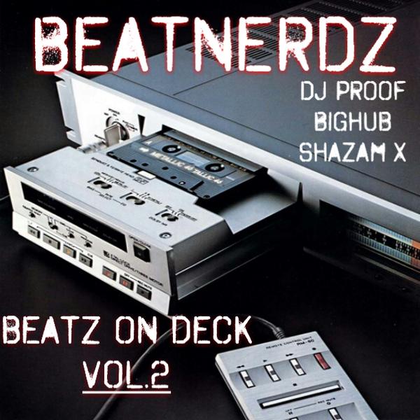 "THE BEATNERDZ ""Beatz On  Deck Vol. 2""  dropping this Tues July 22 via #BandCamp  #FREEDOWNLOAD @Bighub @SHAZAM_X http://t.co/hODaAZPqxT"