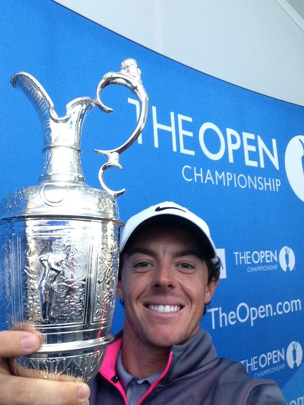 Rory's Open selfie