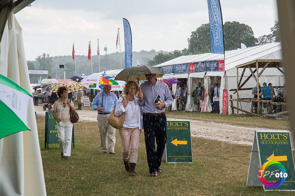"""It'll blow over in a minute ..."" #VeryBritishWeather @TheGameFair from the @Gameandwildlife stand. http://t.co/7m3S0pEWHP"