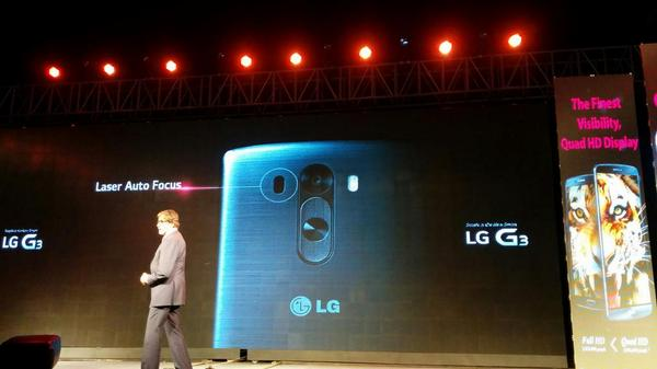 The whole product presentation of #LGG3 is given by @SrBachchan... Stunned! #LGG3 @LGIndiaTweets @LGElectronics http://t.co/x9fDhG5Uql