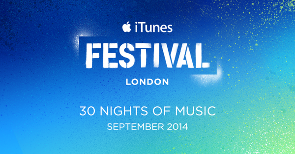 Best September ever. #itunesfestival 2014 at @RoundhouseLDN. In the UK? Apply for tickets. http://t.co/haH2Eqr9YF http://t.co/RVfZsh0rhe
