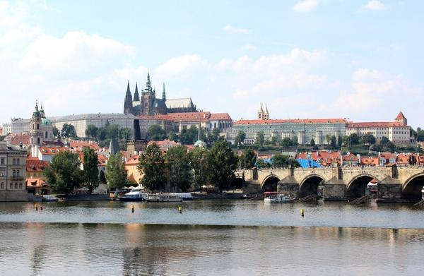 Breathtaking view of the Prague'