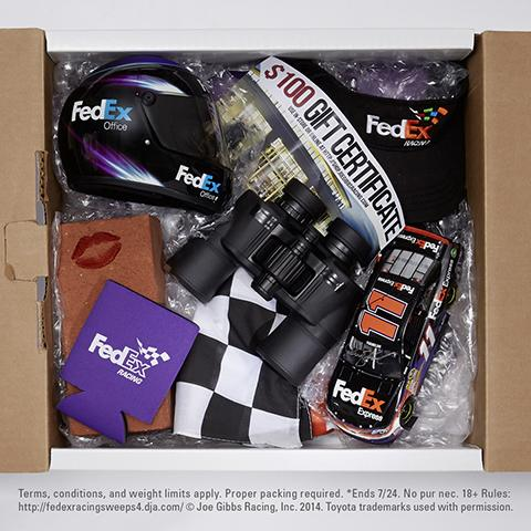 Who'll kiss the bricks Sunday at @IMS? Follow us & RT for a chance to win* #FedEx11 gear shipped using FedEx #OneRate http://t.co/lzloZJaoIL