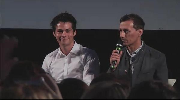 Have some Dylan O'Brien pics from the live streaming m&g at Giffoni http://t.co/8becDAbJws