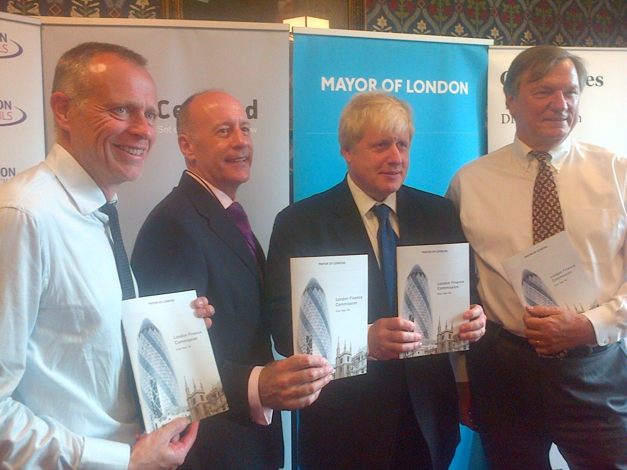 At launch of London Finance Commission one year on report calling for greater fiscal devolution #citycentred http://t.co/XQQrBYwftW