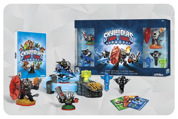 Dark Edition Starter Pack Skylanders Trap Team