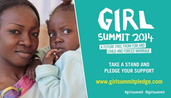 Take a stand to end 2 of the BIGGEST challenges facing girls today!Pledge support http://t.co/oo1ctTkw8Z #GirlSummit http://t.co/vipp7iwT7k
