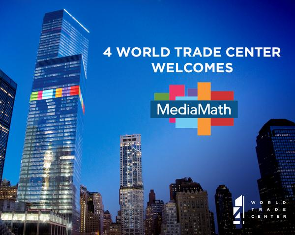MediaMath relocates to 4 World Trade Center