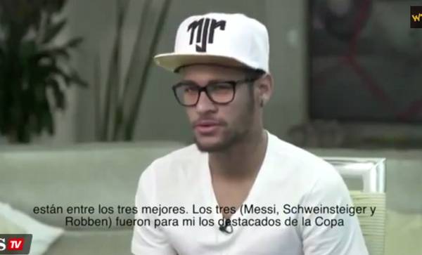 Barcelonas Neymar: Schweinsteiger & Robben also deserved World Cup Golden Ball along with Messi [Video]