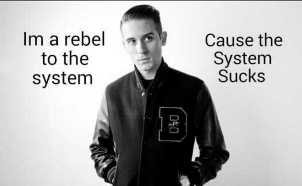 Rapper Quotes On Twitter Im A Rebel To The System Cause The