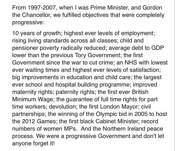 Tony Blair: a great Labour man and PM - Page 8 BtFtscEIYAAG-EW