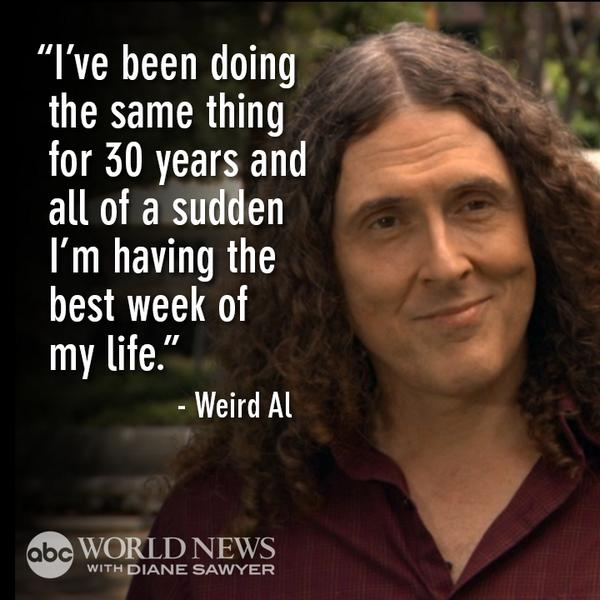 TONIGHT: @alyankovic has been the master of song parodies since the 80's but #MandatoryFun may be his biggest hit yet http://t.co/wE92ijPuti