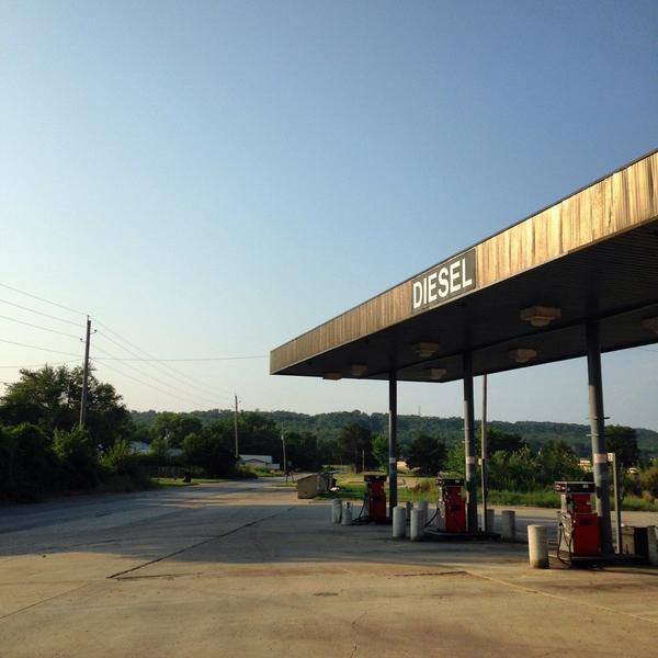 1,076 miles in. #Henryetta, OK, is a pleasant surprise. http://t.co/ogxIqNex0t