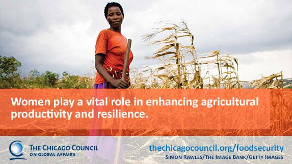Women play a vital role in agricultural productivity & #FoodSecurity—learn more: http://t.co/o7tmtNPbm4 http://t.co/grWBYJWMJX @globalagdev