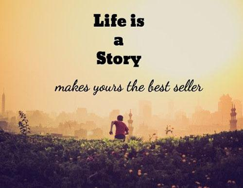 The Quote Today On Twitter Life Is A Story Makes Yours The Best