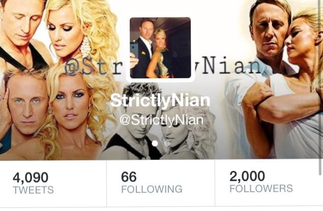 RT @StrictlyNian: We reached 2000 followers for @ianwaite and @RealNatalieLowe !! Completely over the moon!! Thank you everyone!! ⭐️ http:/…