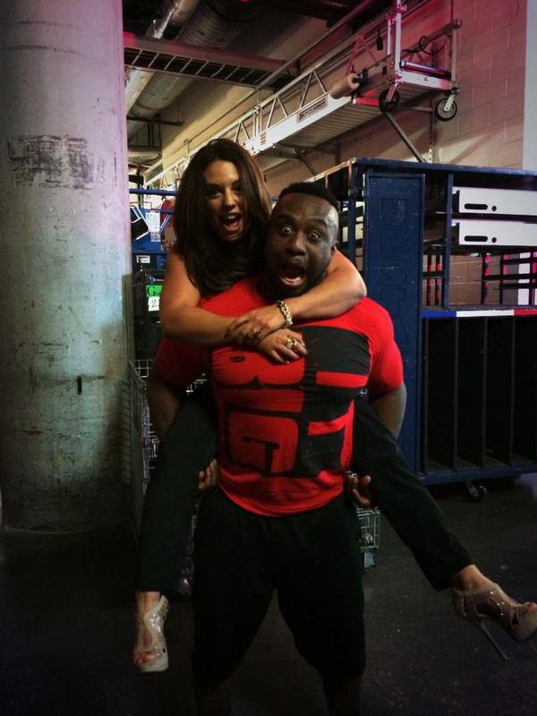 This is moments before I drank out of a half a gallon of milk from catering. @WWEBigE is a bad influence. http://t.co/oyjq0yMCDF